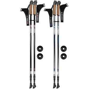 21SR - Hiking Cane Adjustable Aluminium • Nordic Walking •