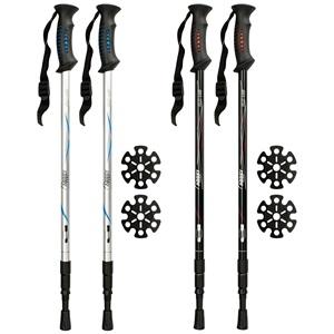 21SV - Hiking Cane Adjustable • Anti Shock • Pair •