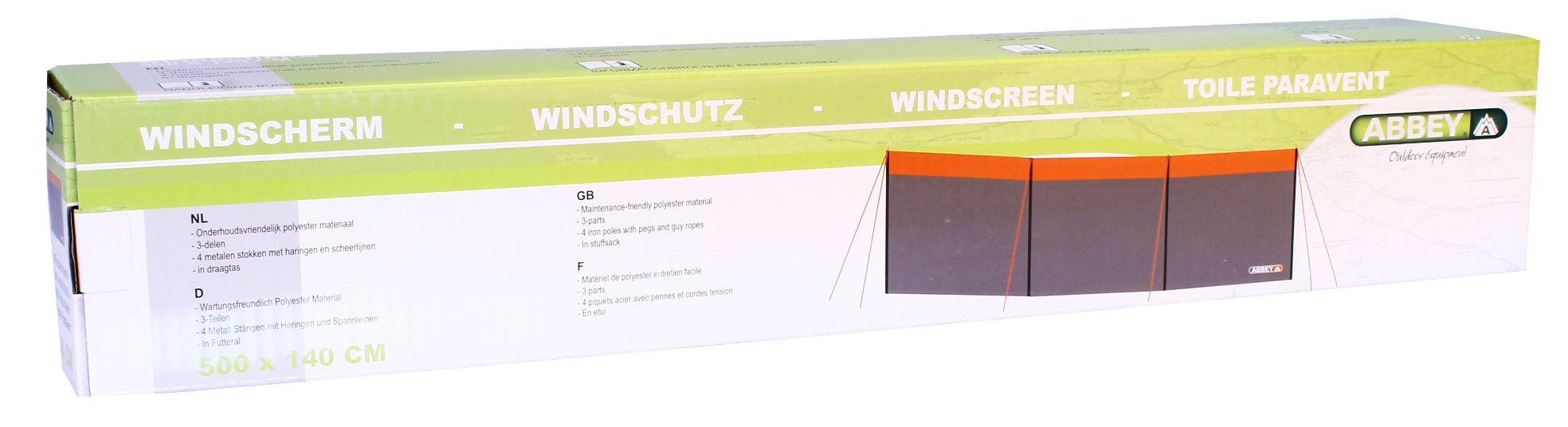 Windscherm Polyester • 5 Meter •