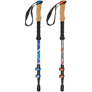 21UA - Hiking Cane Adjustable Cork/EVA Grip • Camino •