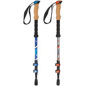 21UA - Hiking Cane Adjustable Cork/EVA Grip • Camino •