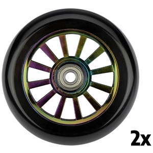 52LM - Wheels Set for Stunt Scooter • Plastic spoked wheel - NC