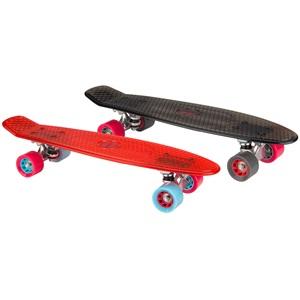 "52NC - Plastic Skateboard 22.5"" • Transparent •"