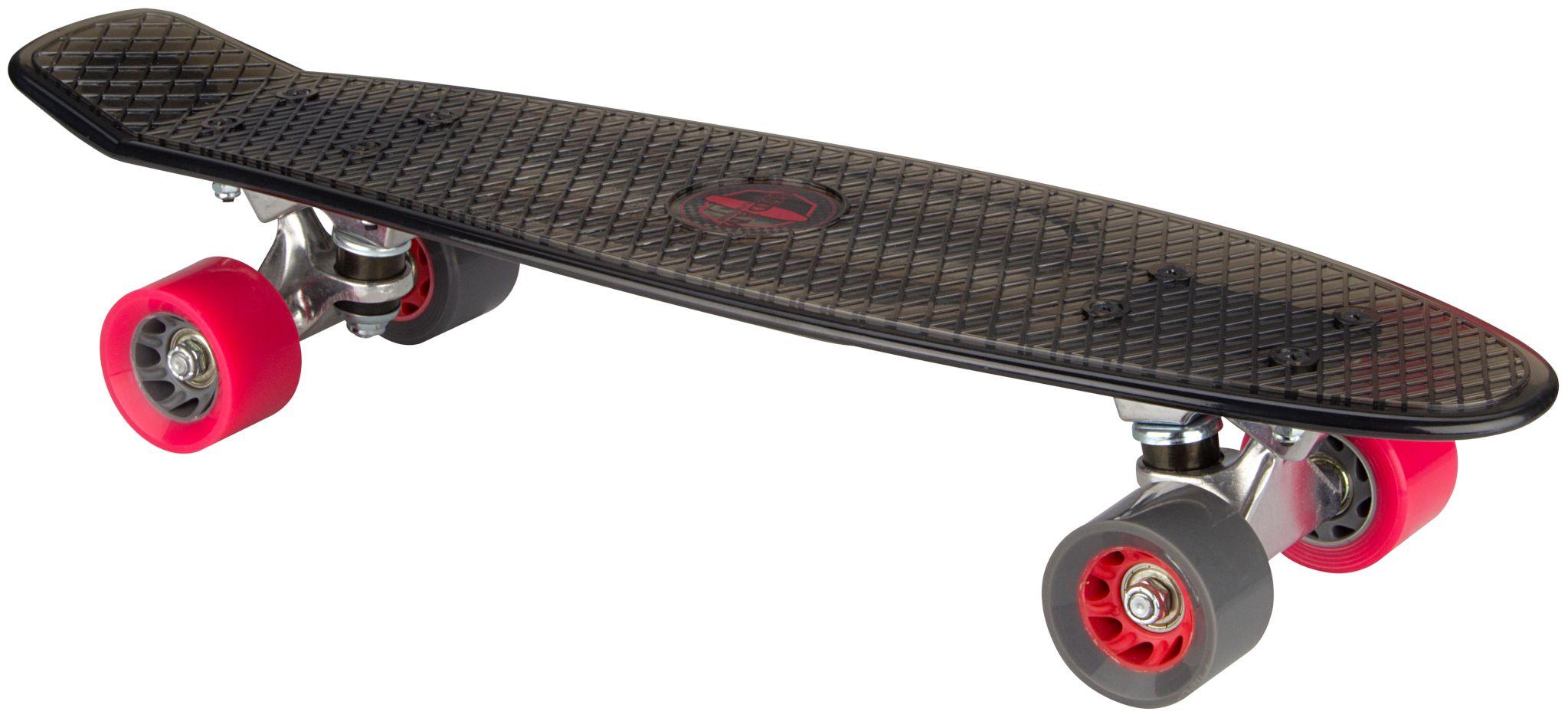 """Kunststof Skateboard 22.5"""" • Transparant •"""
