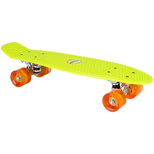 "52ND - Plastic Skateboard 22.5"" • LED Wheels •"