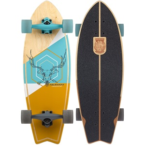 52NM - Cruiser Longboard Fishtail • Stag Skull •