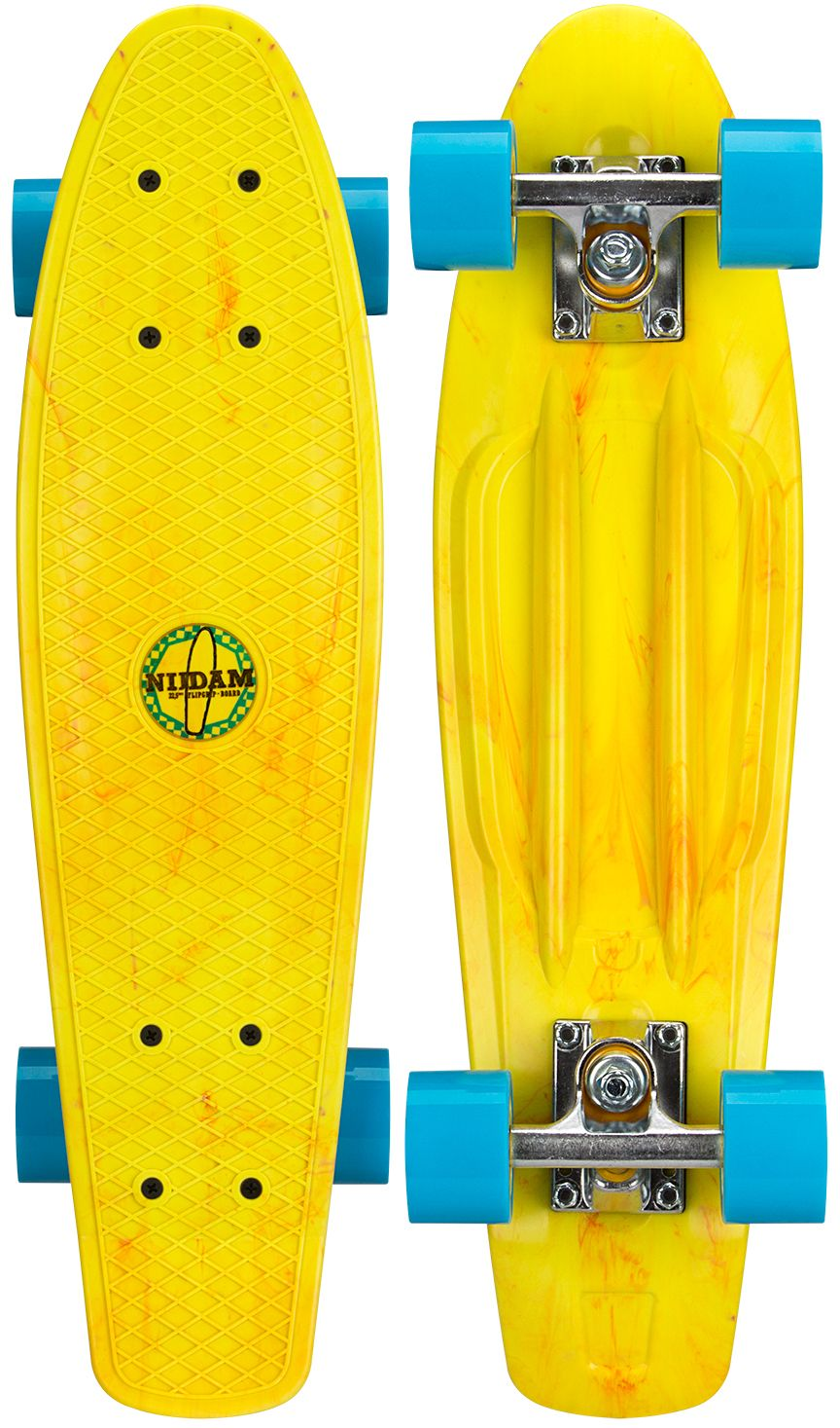 "Kunststof Skateboard 22.5"" • Splash Dye •"