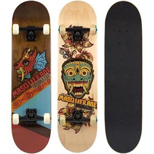 52NT - Mid-Level Skateboard • Masquerade Brigade •