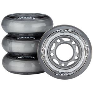 52OB - Speichenrollen für Inlineskates 80A • 64 x 24 mm •