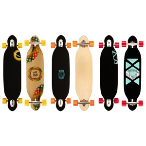 "52OT - Longboard 38"" Drop-through • Criss Cross •"