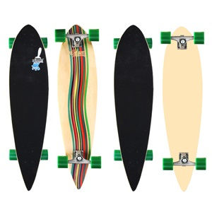 "52OW - Longboard 39"" Pintail • Green Vortex •"
