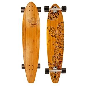 """52OZ - Longboard 42"""" Kicktail Bamboo • Totem Triumph •"""