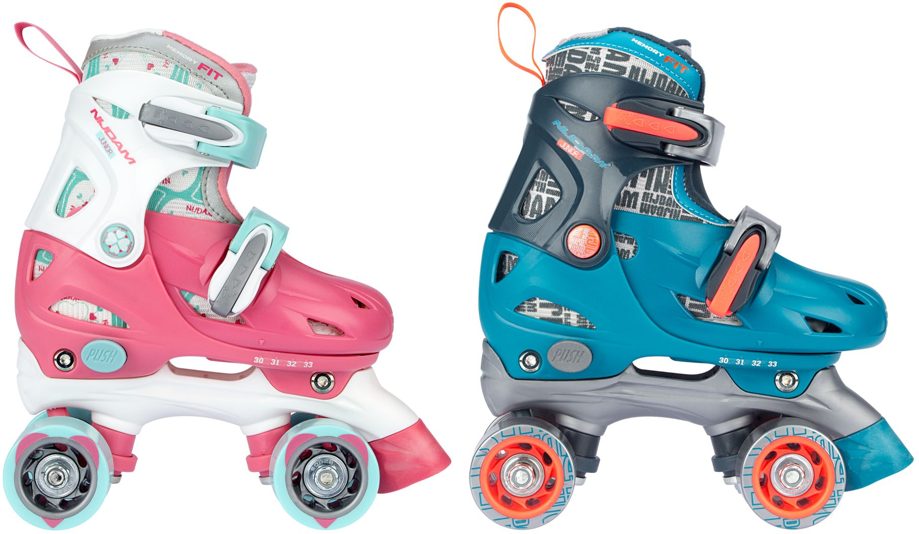 44f5fa94f09 52QN - Roller Skates Junior Adjustable Hardboot • Disco Twirl ...