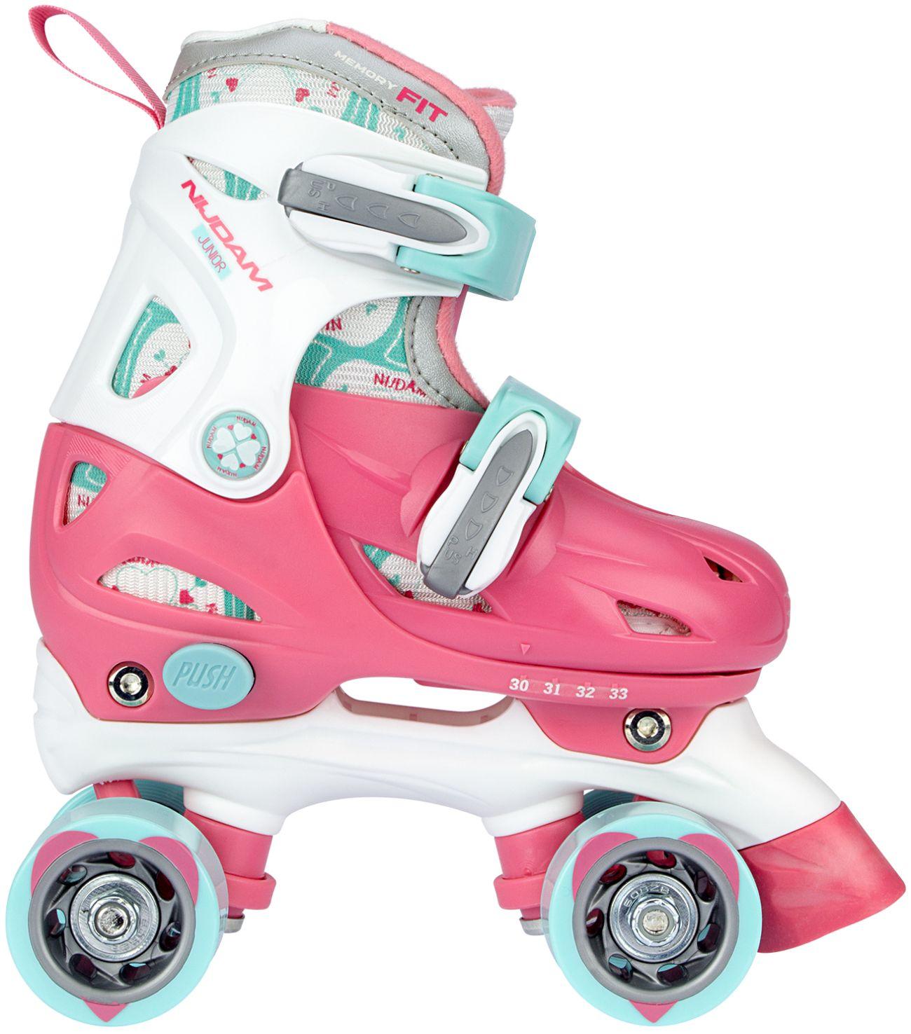 Rolschaatsen Junior Verstelbaar Hardboot • Disco Twirl •