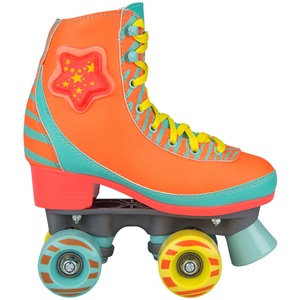 52RY - Roller Skates • LED Star Zebra •