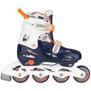 52SA - Inline Skates Junior Adjustable • Hardboot •