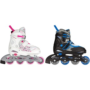 52SE - Inlineskates Junior Verstellbar • Semi-Softboot •