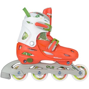 52SG - Inlineskates Junior Verstellbar • Hardboot • Jungle •