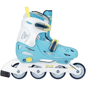 52SH - Inline Skates Junior Adjustable • Hardboot • Sunny Blue •