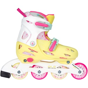 52SI - Inline Skates Girls Adjustable • Hardboot • Yellow Bird •