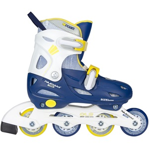 52SJ - Inline Skates Boys Adjustable • Hardboot • Navy Seal •