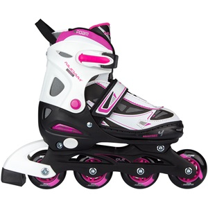 52SL - Inlineskates Junior Verstellbar • Semi-Softboot •
