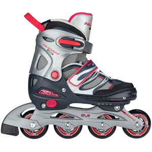 52SN - Inlineskates Junior Verstellbar • Semi-Softboot •