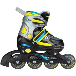 52SP - Inlineskates Junior Verstelbaar • Semi-Softboot •