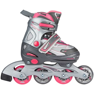 52SR - Inline Skates Junior Adjustable • Semisoft Boot •