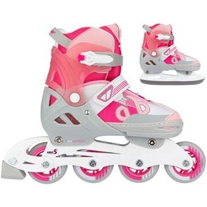 N14AC02 - Skates Combo Adjustable - Bold Berry