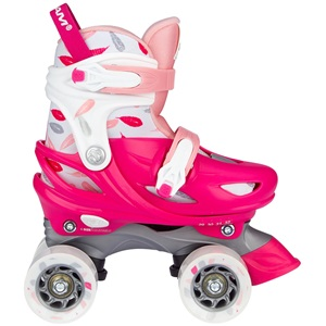 N21AA02 - Roller Skates Adjustable - Feather Drops