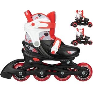 N22AA02 - 3-in-1 Inline Skates Adjustable - Street Shift