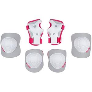 N61EC03 - Skate Protector Set Kids - White Out