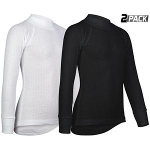0705 - Thermoshirt Lange Mouw Junior • 2-Pack •