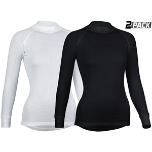 0706 - Thermoshirt Lange Mouw Dames • 2-Pack •