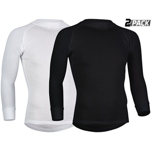 0707 - Thermoshirt Lange Mouw Heren • 2-Pack •