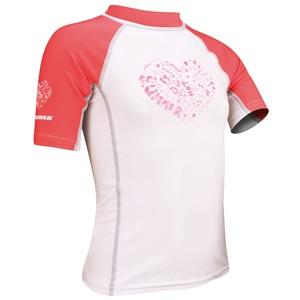 55UD - UV Shirt Meisjes • Korte Mouw • Zest •