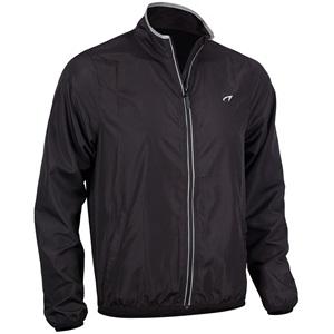 74RE - Running Jacket Men • Basic Black •