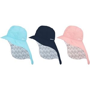 23CV - UV Cap with Neck Flap Junior Reversible • Bora •
