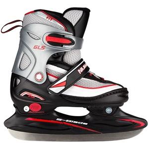 2202 - Kindereishockeyschlittschuh Verstellbar • Semi-Softboot •