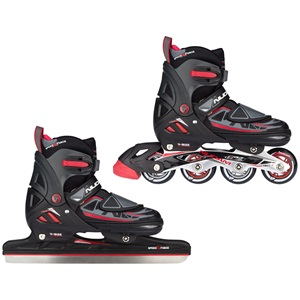 3409 - Speed Ice Skate/Inline Combo Boys • Semisoft Boot •