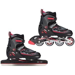 3409 - Speed Ice Skate Combo Junior • Semisoft Boot • N-Force I