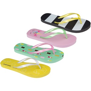 13EP - Flip-flops Girls Print • Waikiki Beach •