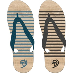 13FG - Teenslippers Heren • Wood •