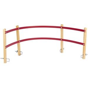 0255 - Rückenlehne für Holzschlitten