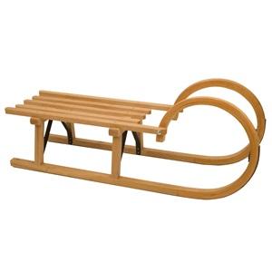 0274 - Schlitten Holz • Rodel 95 cm •