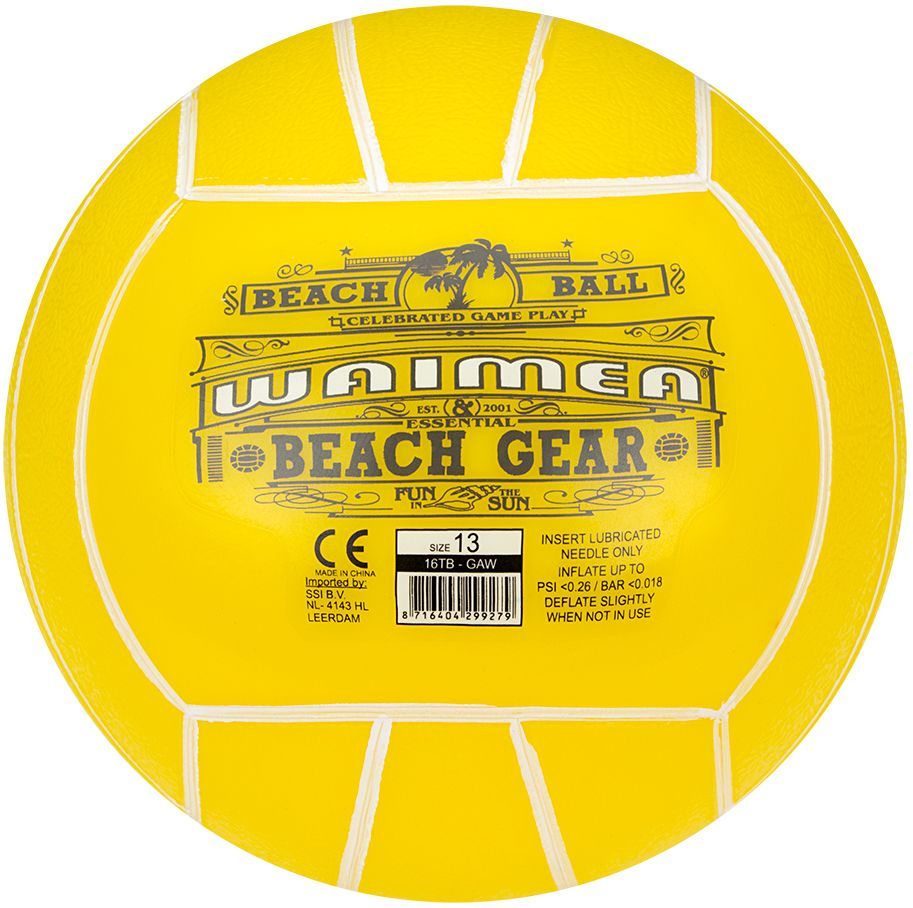 Strandbal PVC • 13 cm •