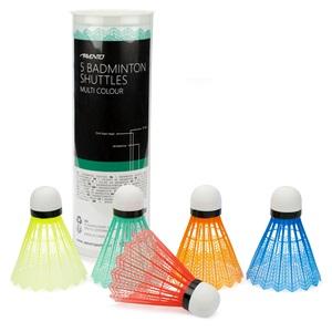 46SA - 5 Badminton Shuttles • 5 Colours •