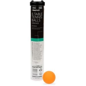 46TI - 6 Tafeltennisballen • ABS Orange •