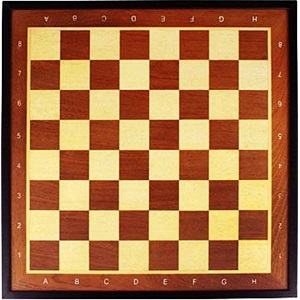 49CC - Chess Board with Border • Deluxe •
